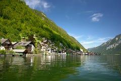 Hallstatt, a village in Salzkammergut, Austria Stock Photo