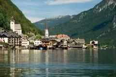 Hallstatt, a village in Salzkammergut, Austria Royalty Free Stock Images