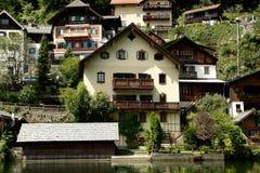 Hallstatt, a village in Salzkammergut, Austria Royalty Free Stock Image