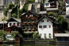 Hallstatt, a village in Salzkammergut, Austria Royalty Free Stock Photography