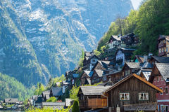 Hallstatt  village Royalty Free Stock Images
