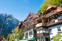 Hallstatt  village Stock Photo