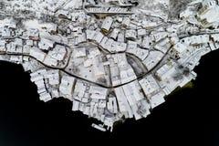 Hallstatt in winter season Stock Images