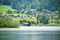 Hallstatter lake, Austria Royalty Free Stock Photography