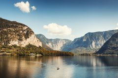 Free Hallstatter Lake In Austrian Alps. Stock Photography - 118759042