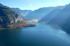Hallstatter see. Hallstatt, Austria. The Hallstatter see lake Stock Photography