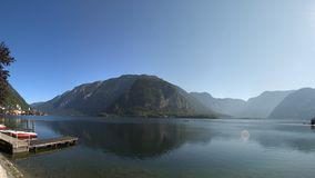 Hallstatter see panorama Stock Image