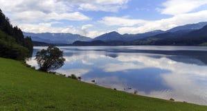 Hallstattersee lake, Alps, Austria Royalty Free Stock Photos