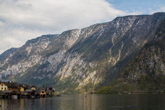 Hallsttat. View beautiful  in Hallsttat, Austria Royalty Free Stock Photo