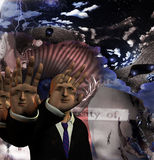 Hallucinogenic abstract Stock Image