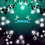 Hallucinogenic pieczarki Psilocybe royalty ilustracja