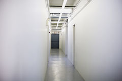 Hallway. In Commercial Building. Horizontally framed shot Royalty Free Stock Photography