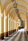 hallway fotos de stock