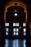 hallway imagem de stock