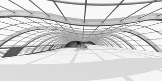 Hallway Architecture Stock Photo