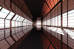 Hallway Architecture Stock Images