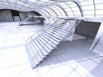 Hallway Architecture Stock Images