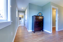 Hallway from bedroom to the bathroom Stock Images