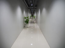 Hallway in The Building Royalty Free Stock Photos