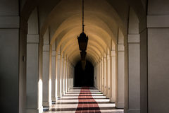 Hallway at City Hall, in Pasadena  Stock Image