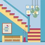Hallway Decoration. Royalty Free Stock Image