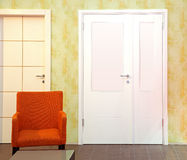Hallway door Stock Photography