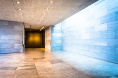 Hallway in the East Building of the National Gallery of Art, Was Stock Image
