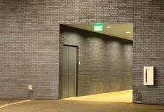 Hallway Exit Stock Images