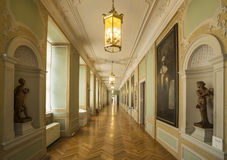 Hallway at Friedenstein Castle Royalty Free Stock Photography