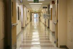 hallway hospital Στοκ εικόνες με δικαίωμα ελεύθερης χρήσης