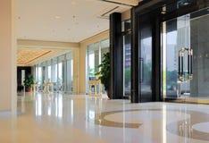 Hallway of hotel Stock Image