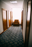 Hallway in hotel Royalty Free Stock Photography