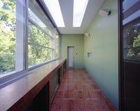 Hallway at house. Large light hallway at house Royalty Free Stock Image