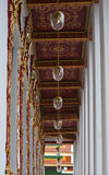 Hallway inside Bawon temple. Royalty Free Stock Photos