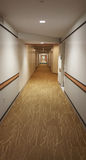 Hallway Lines Royalty Free Stock Photography