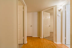 Hallway With Many Angles Royalty Free Stock Photo