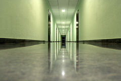 Hallway in a modern building Royalty Free Stock Photography