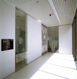 Hallway in modern office Building Royalty Free Stock Image