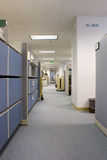 Hallway in Office Space Royalty Free Stock Photography
