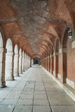 Hallway in the royal palace. Royalty Free Stock Photography