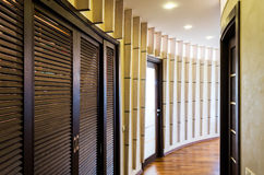 Hallway in smart place Royalty Free Stock Image