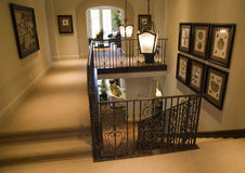Hallway and Staircase Royalty Free Stock Images