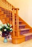 Hallway staricase Stock Image