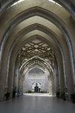Hallway of Sultan Mizan Mosque Stock Photo