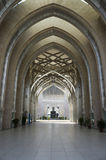Hallway of Sultan Mizan Mosque , Putrajaya, Malaysia Stock Photography