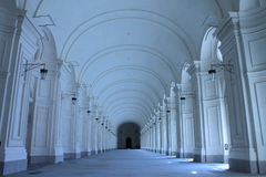 Hallway of Venaria Reale Stock Images