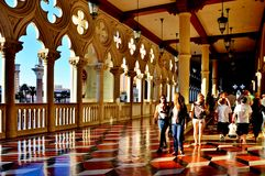 Hallway at Venetian Royalty Free Stock Image
