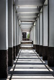 Hallway at the Virginia War Memorial in Richmond, Virginia. Royalty Free Stock Images
