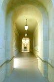 Hallways of academia Stock Images