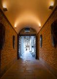 Hallways of Alcazar Royalty Free Stock Images